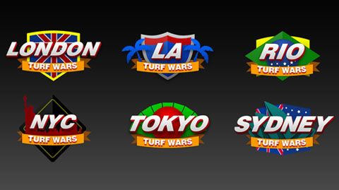Rivals - Turf War Icons